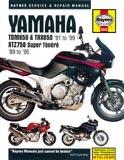 XTZ750 3LD / TDM 850 3VD - Service Manual Haynes