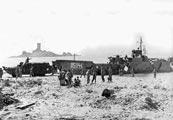 La plage du débarquement - 15 août 1944
