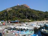 Le port du Poussaï